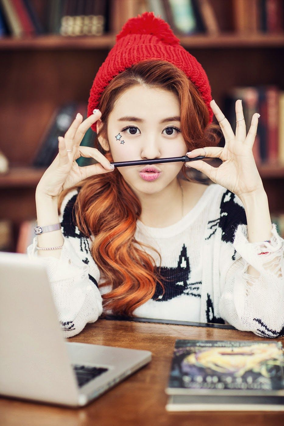Beautiful Korean Artists Jiyeon - bnt International May