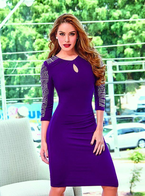 712-71 Vestido Dama Cklass | Vestidos | Pinterest | Damas y Vestiditos