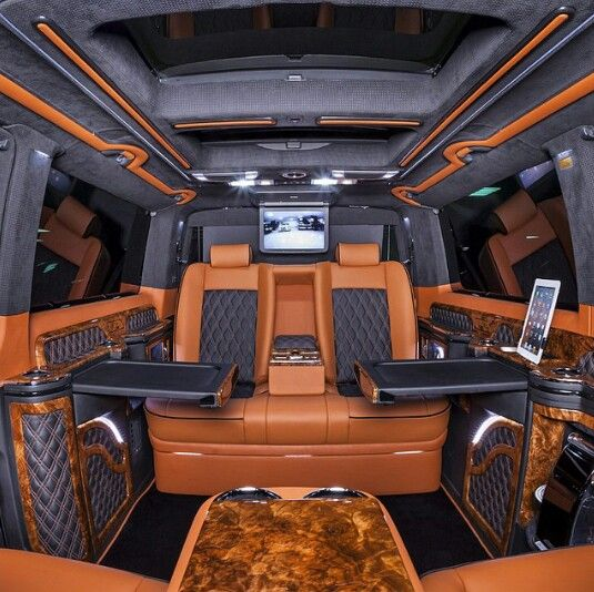 ღღ Mercedes-Vito interior design | vito | Pinterest