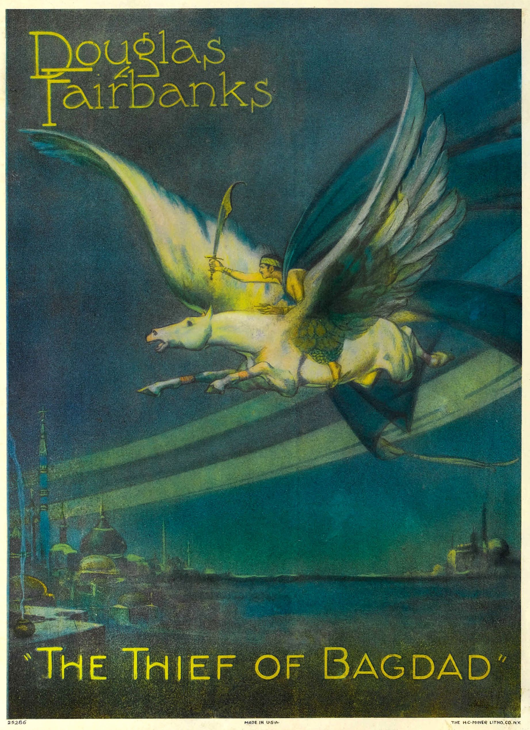 The Thief Of Bagdad Is A 1924 American Swashbuckler Film Directed
