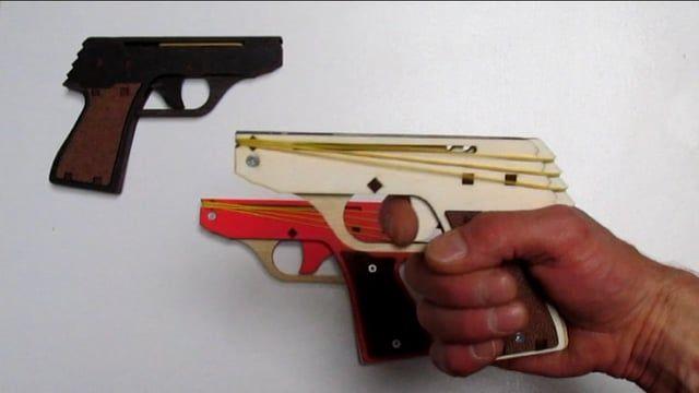 Rubber Band Gun | Guns & Stuff | Guns, Hand guns, Rubber