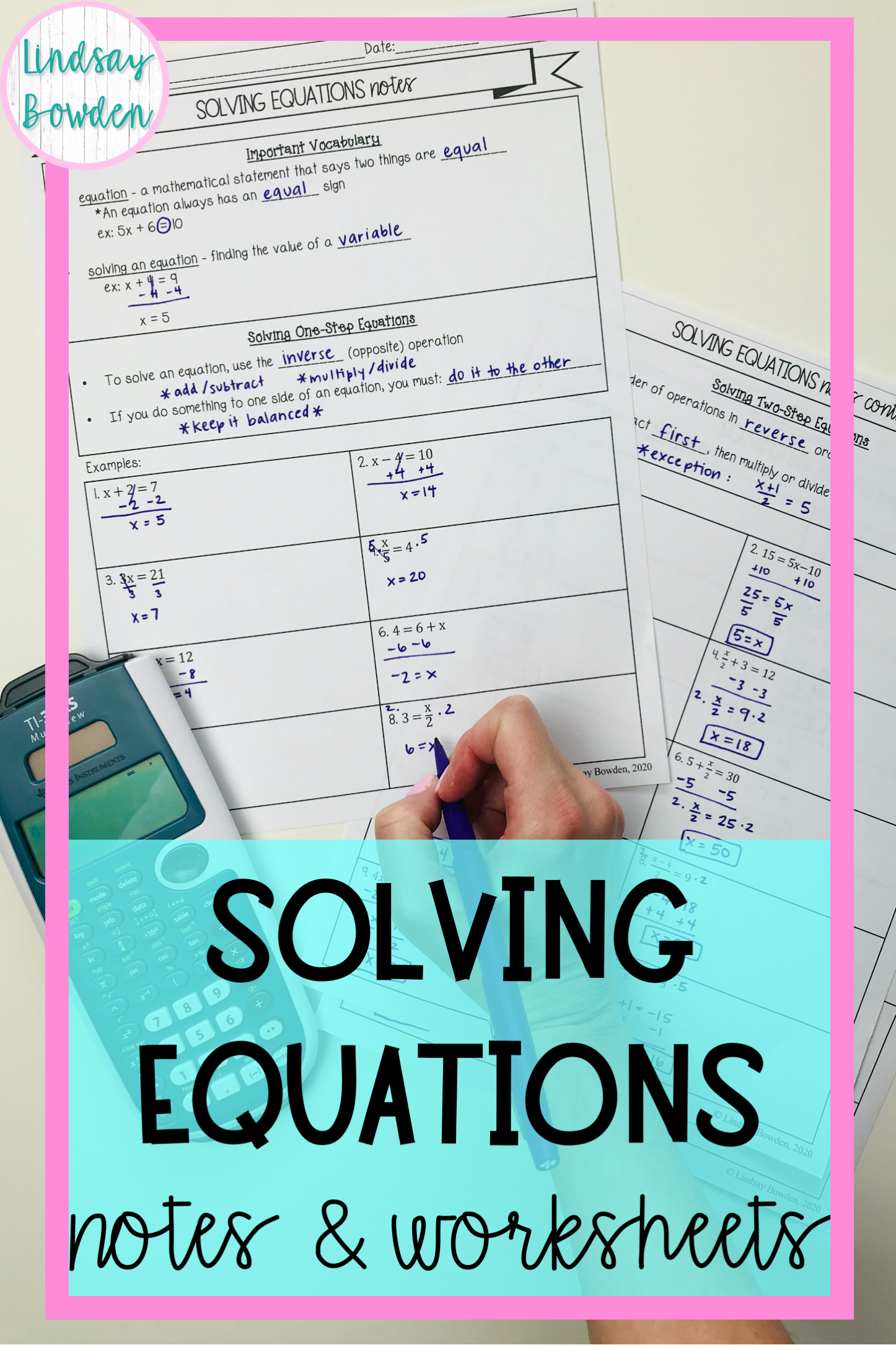 hight resolution of Intro to Polynomials Notes and Worksheets   Algebra notes