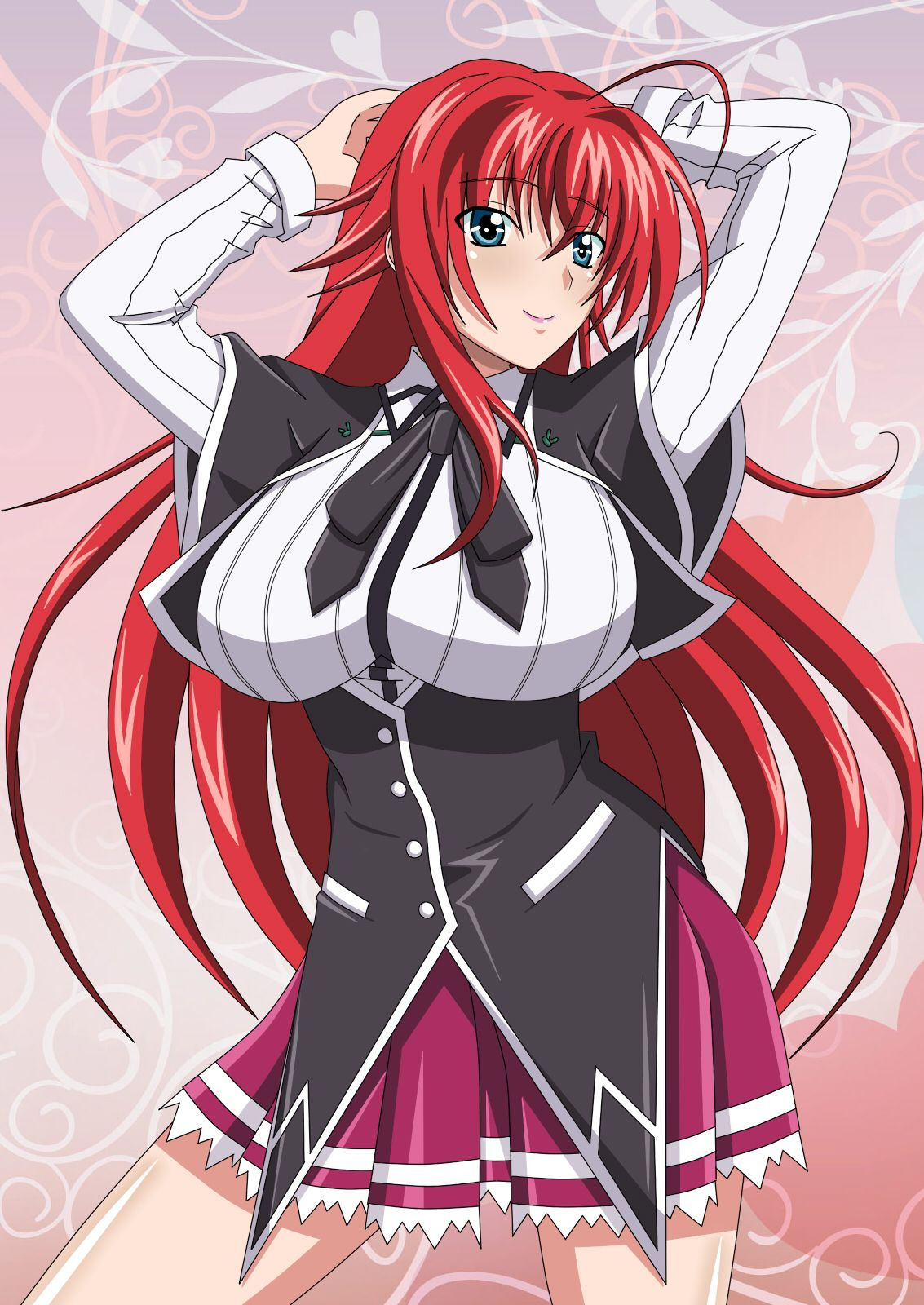 Rias Gremory | リアスグレモリー | Pinterest | Anime high school ...