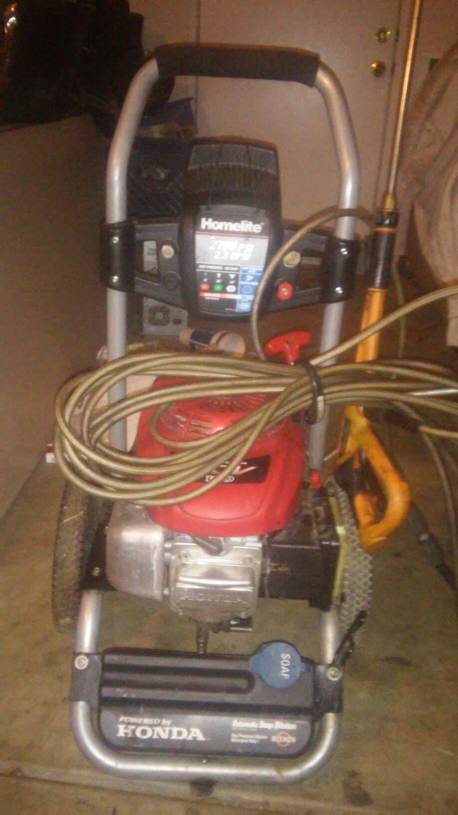Pin On Homelite Honda Pressure Washer 2700 Psi 2 3 Gpm