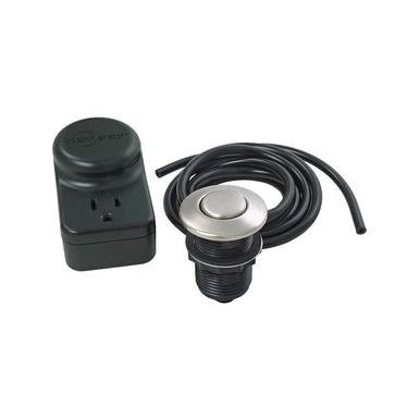 Add A Touch Of Elegance To Your Kitchen With The InSinkErator Single Outlet SinkTop  Switch™ With Satin Nickel Button.