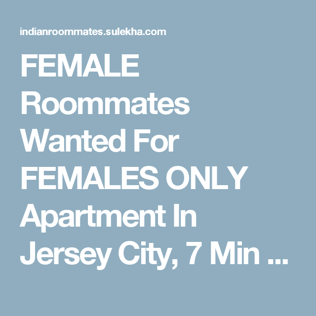 Roommates wanted nyc