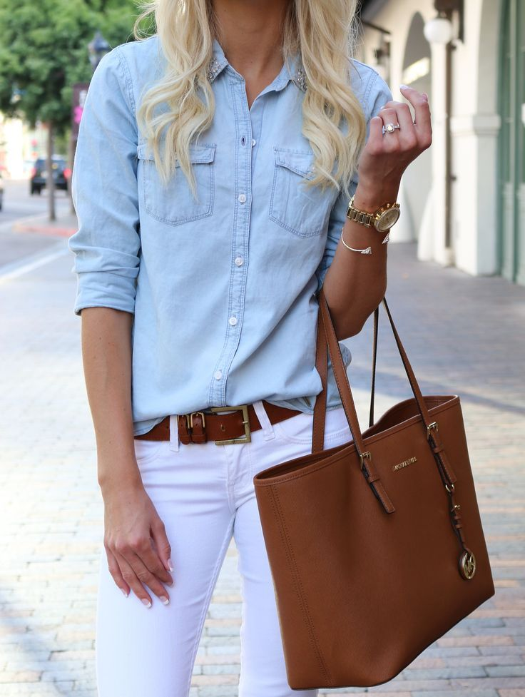 29 Awesome Ways To Wear White Jeans This Summer