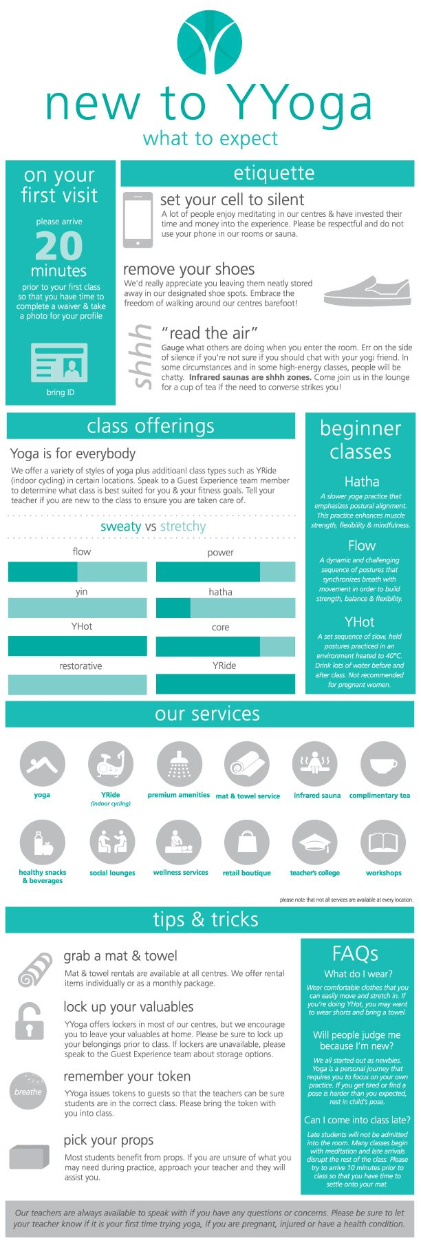 Are you feeling anxious about trying yoga? Is your ego getting in the way of you & your mat?   Read this new blog post: http://ow.ly/vHHma & use this #infographic to help ease you into your practice. #newtoyoga #yoga #yyoga