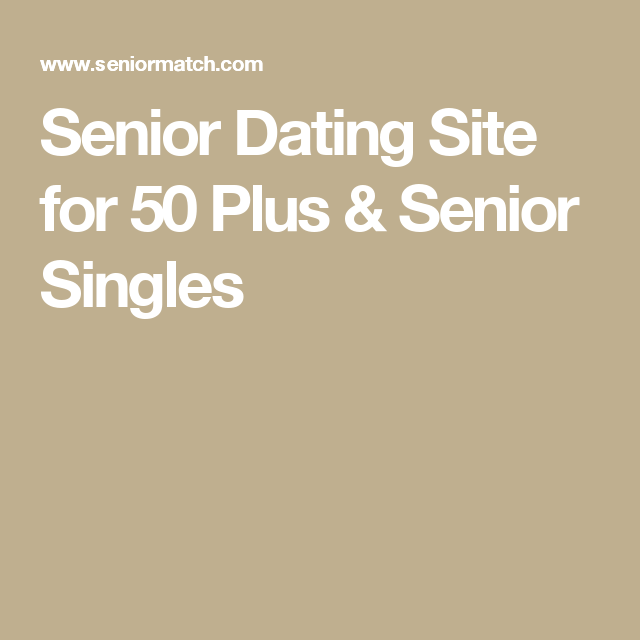 dating sites for halvtreds plus