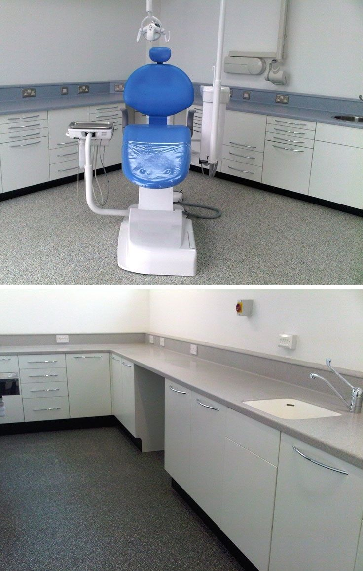 Decontamination Room Design: Top Image Shows The High Performance Belmont Voyager Chair