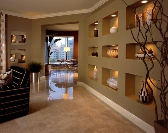 ▷ 1001+ idées comment décorer vos intérieurs avec une niche murale - Comment Decorer Un Grand Mur