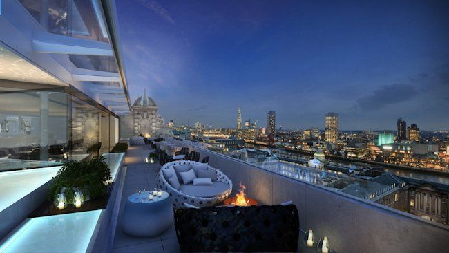 London S Hottest New Roof Bar Opening This September London Rooftops Best Rooftop Bars London Hotels