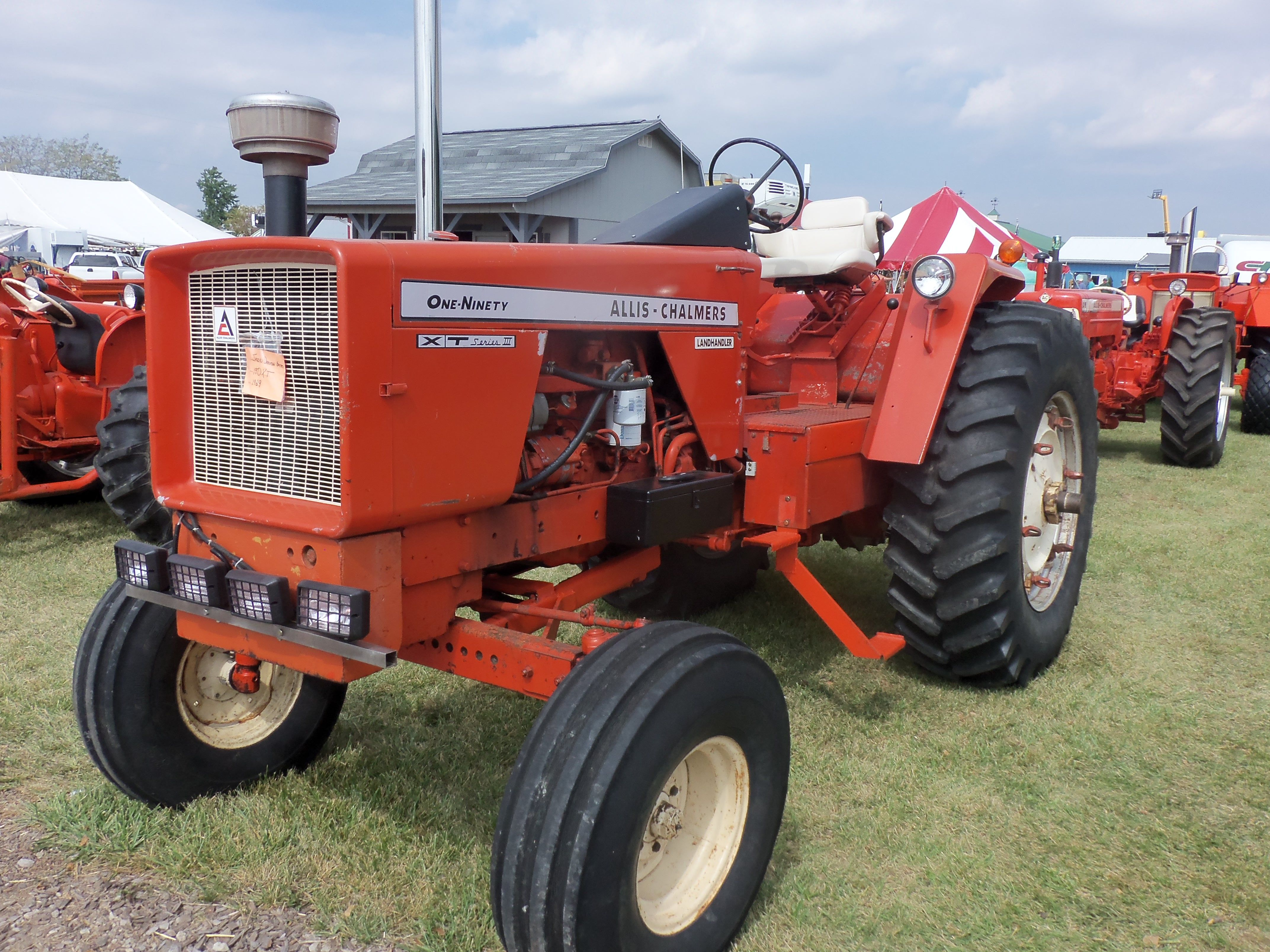 93hp Allis Chalmers 190 Xt Series 3 Pinterest B Wiring Harness Antique Tractors Old Farm Day