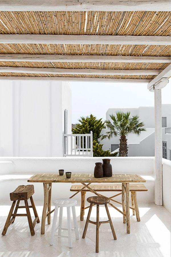 gartenm bel luxus nachhaltige au enm bel aus bambus pergola pinterest garten m bel und. Black Bedroom Furniture Sets. Home Design Ideas