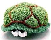 turtle olga oete, PDF crochet pattern by Katja Heinlein Häkelanleitung Schildkröte
