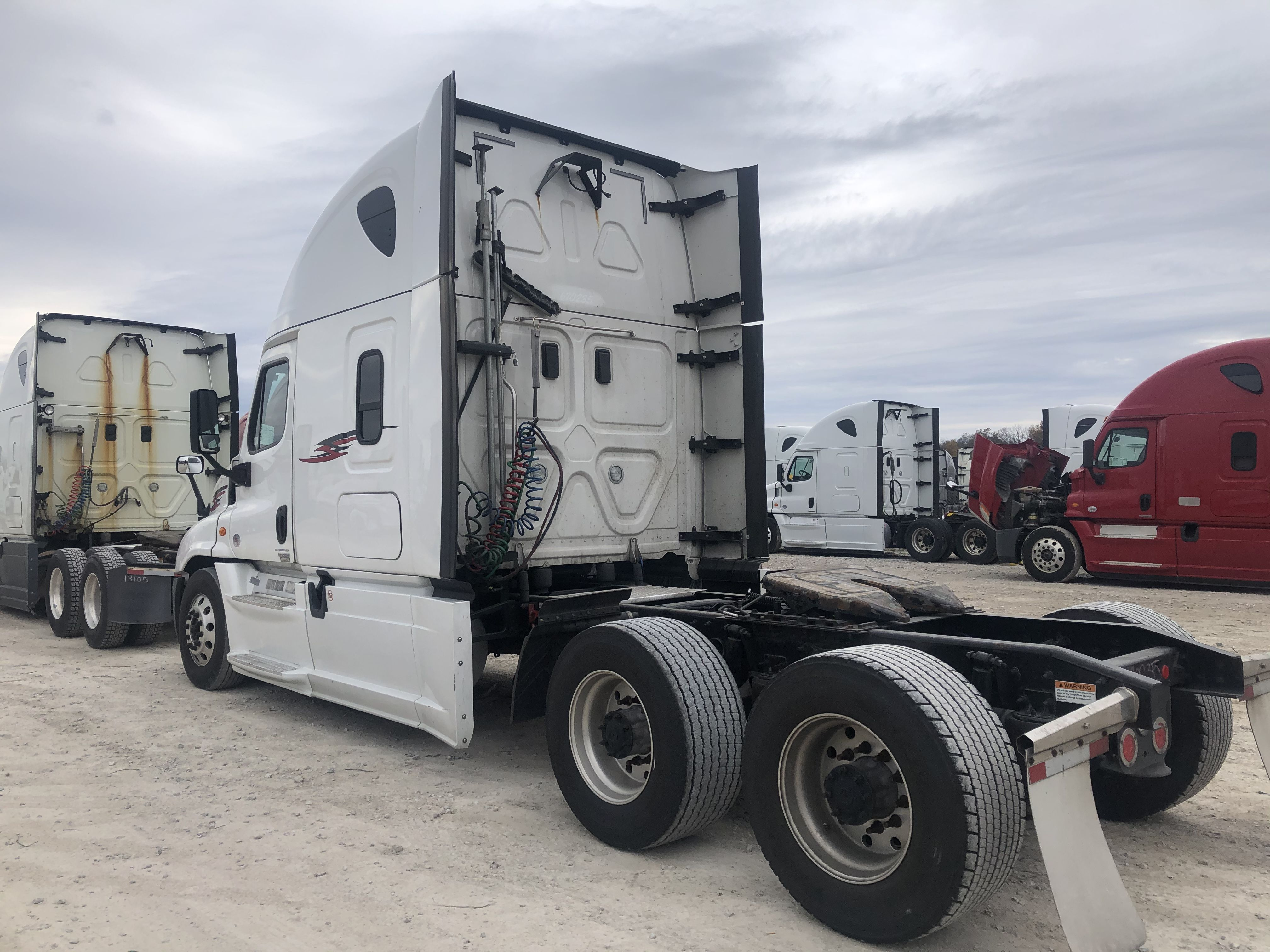 Moved this 2017 freightliner from springfield to tennessee