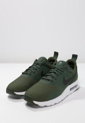 Nike Sportswear AIR MAX TAVAS - Sneakers laag - carbon green/black/white -