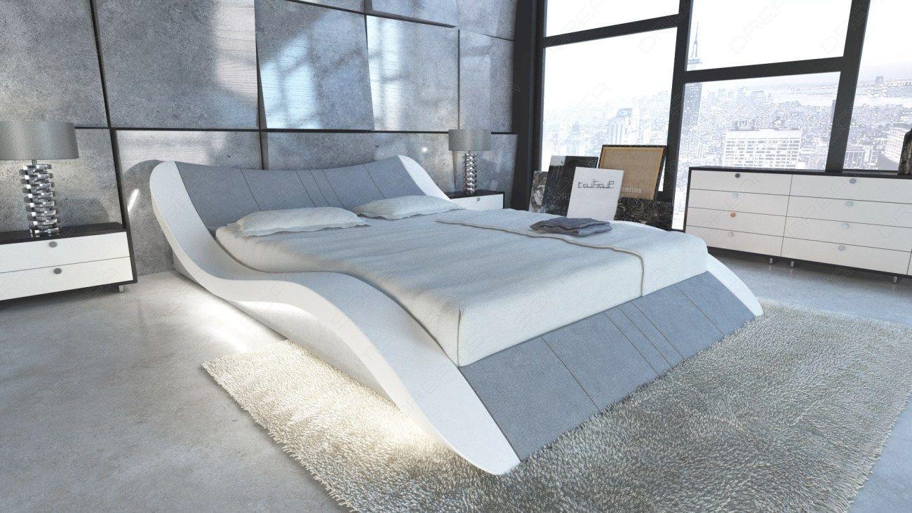 Wasserbett Frankfurt In Leder Mit Led Sofa Design Sofa Gunstig