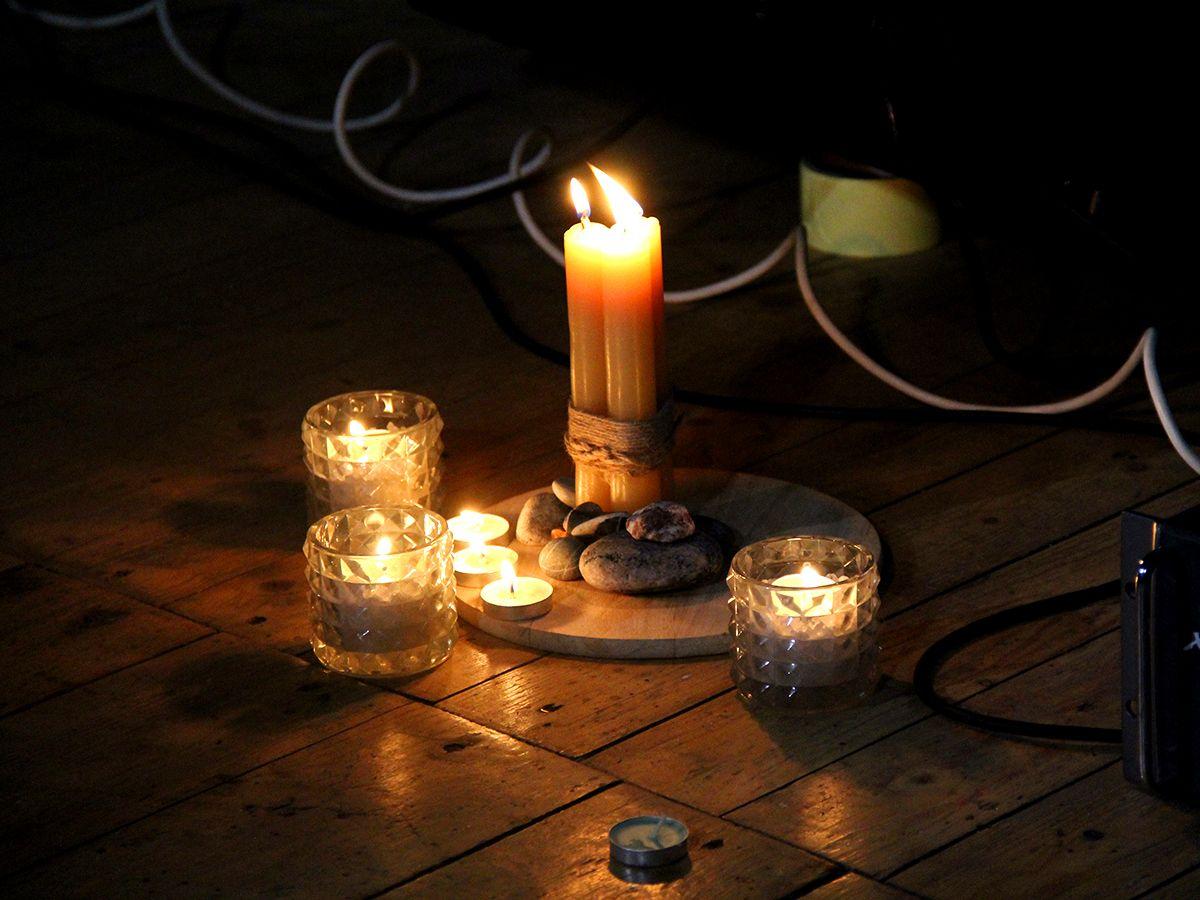 Свечи на концерте