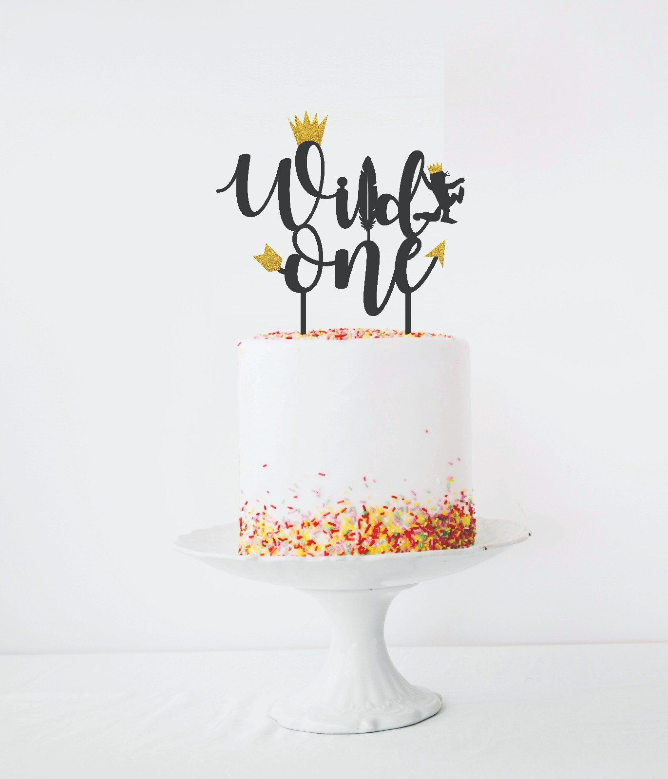 Wild one birthday decorations Wild one cake topper