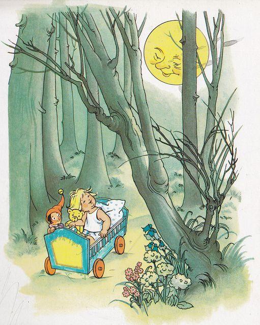 Der Kleine Hawelmann Bild 4 Storybook Art Illustration Old Children S Books