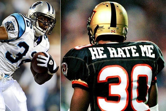 bc0a2572499 Rod-He Hate Me, XFL Xfl Football, Football Helmets, Nfl Carolina Panthers