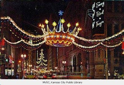 Crowns for christmas in downtown kansas city and trips to for Christmas crown decoration