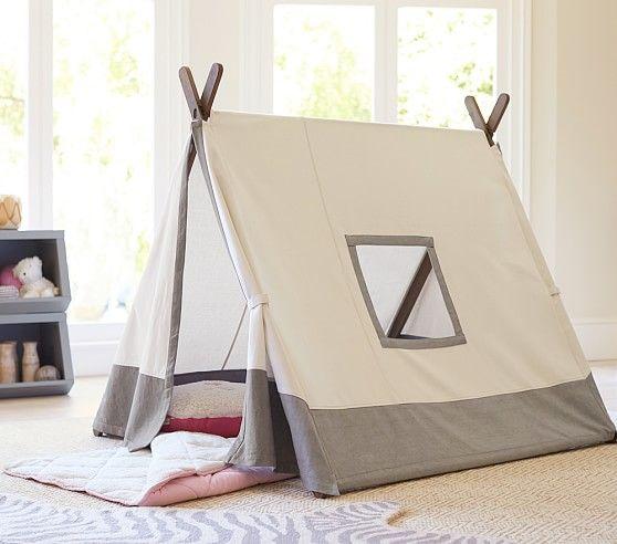 Gray A-frame Tent | Pottery Barn Kids & Gray A-frame Tent | Pottery Barn Kids | Fun for Kids | Pinterest ...