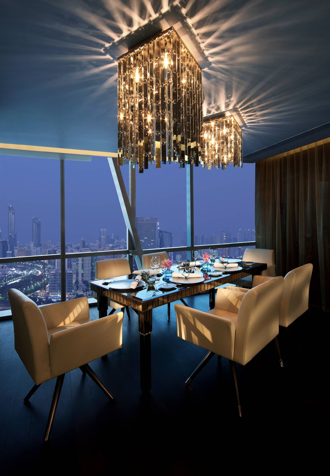 Eithad Towers Guests Private Dining Room