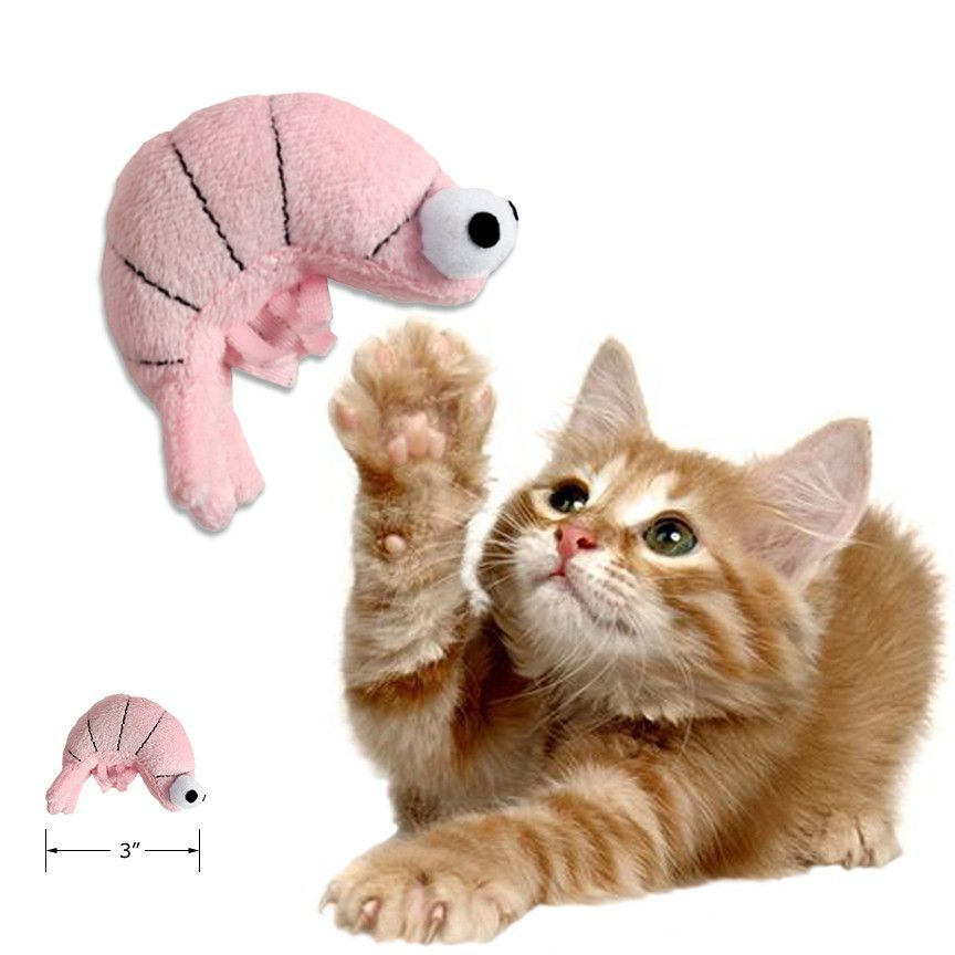Cat Catnip Shrimp Toy Little Pink Shrimp Cat Toy Cat Toys Holiday Dog Photos Dog Holiday
