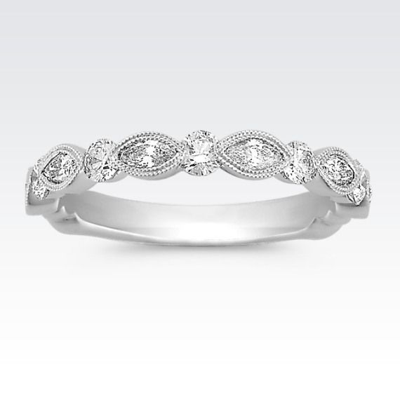 This Unique Band Features Six Marquise Diamonds At Approximately 42 Carat TW And