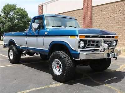 1977 Ford F250 Highboy 400ci V8 Tasteful Upgrades Smooth