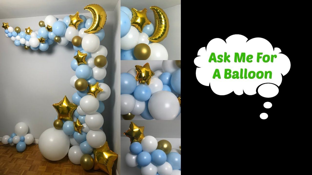 Twinkle Star Balloon Arch Balloon wall decorations