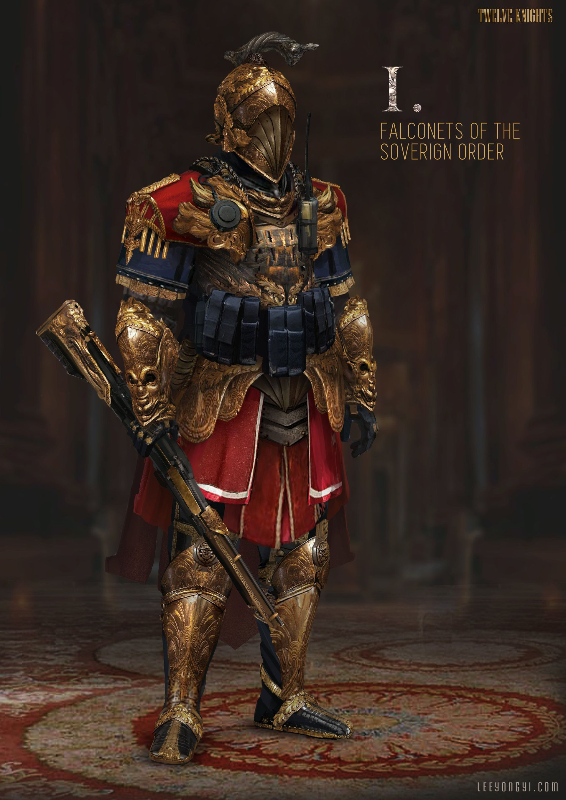 ArtStation - Falconets of the Soverign Order, Yong Yi Lee
