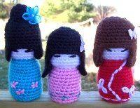 Libre de patrones Amigurumi: muñecas