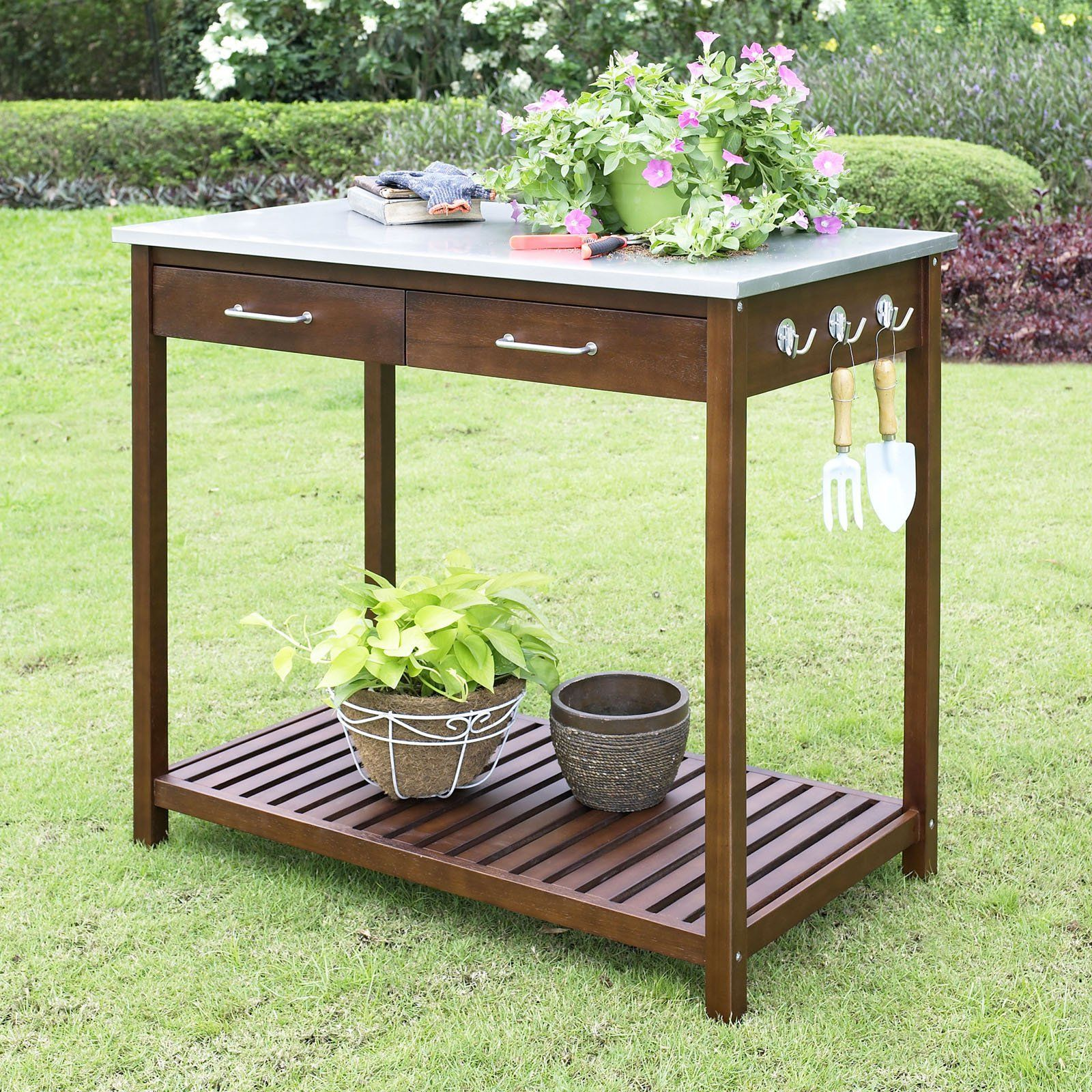 Planting Tables For Sale Belham Living Winfield Potting Table 39w X 22d X 36h In In 2019