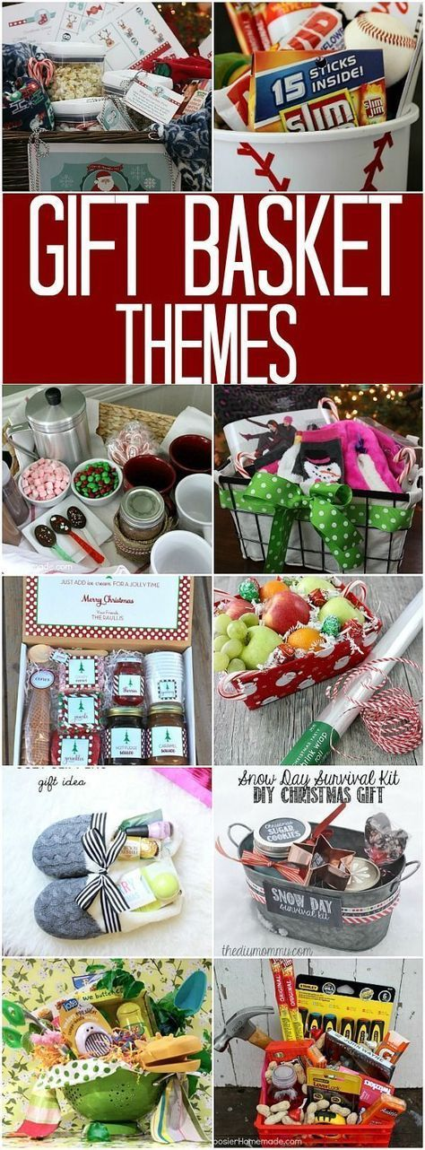 Gift Basket Themes: 100 Days of Homemade Holiday Inspiration - Hoosier Homemade
