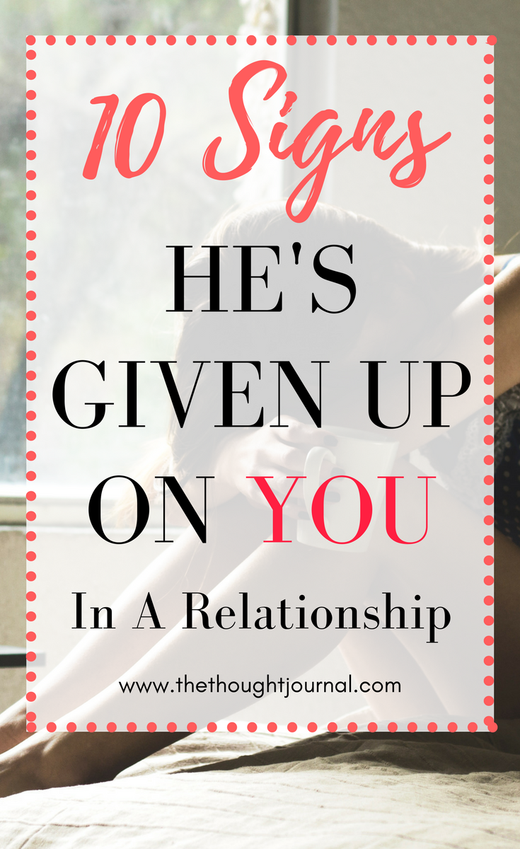 10 Obvious Signs You're In A One-Sided Relationshi