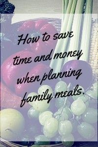 Family Meal Organisation