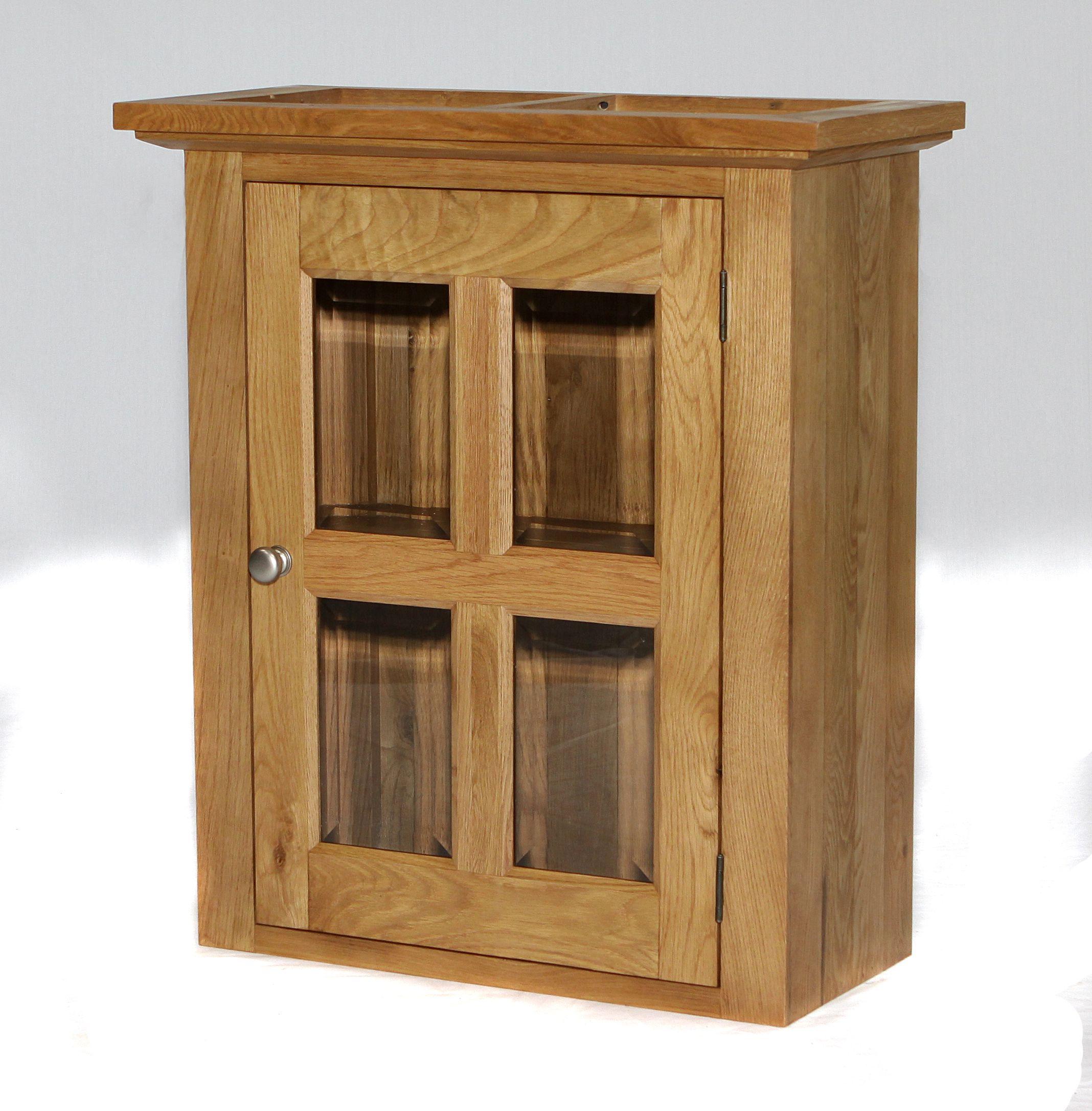 304 roomy glazed wall cupboard freestanding kitchen units
