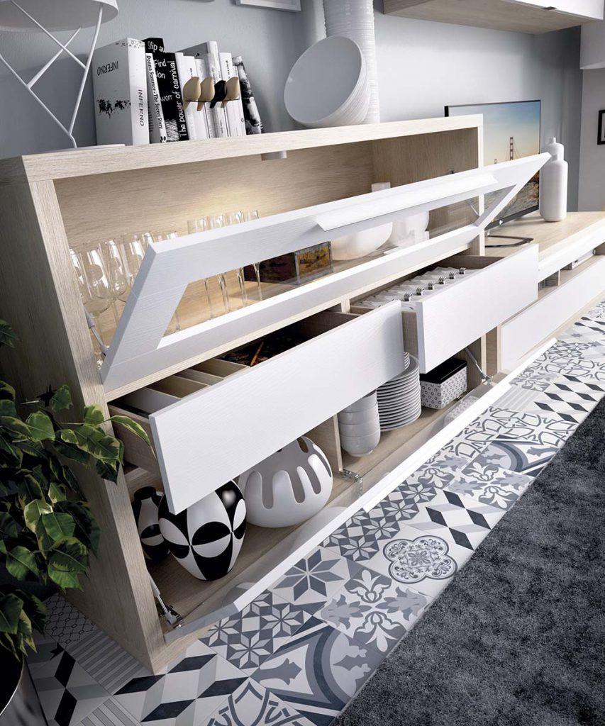 Composiciones decoracion muebles salon modernos - Muebles casanova catalogo ...