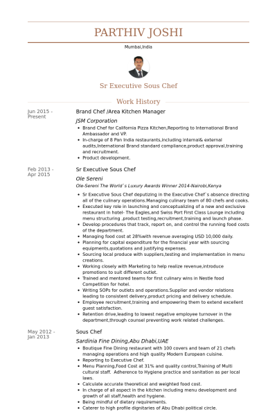 Resume Examples Kitchen Manager Resume Templates Resume Examples Manager Resume Chef Resume