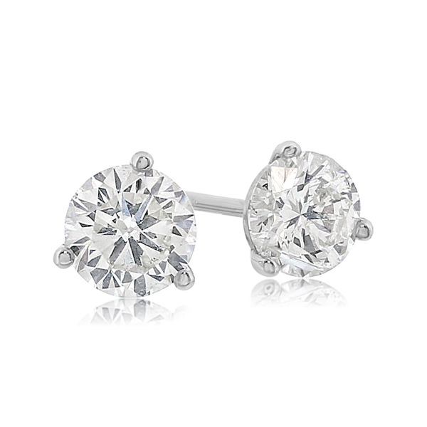 1 1 4 Carat Diamond Stud Earrings Reis Nichols Jewelers In 2020 Diamond Studs Diamond Earrings Studs Stud Earrings