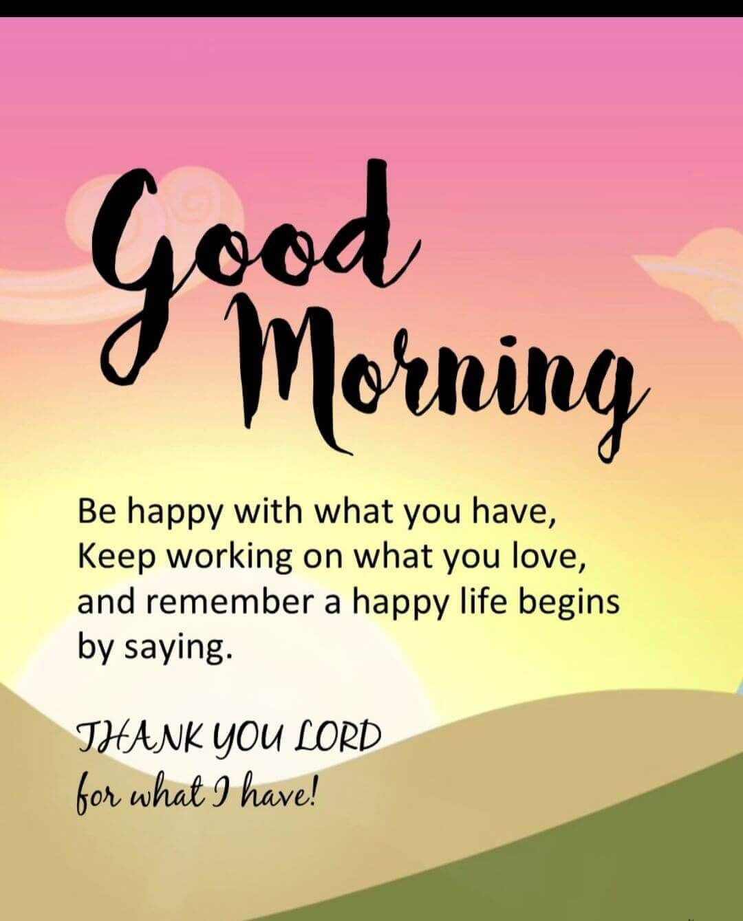 Good Morning Inspirational Quotes & Sayings With Images  Morning