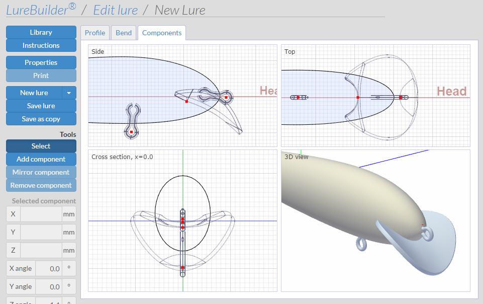 Fishing Lure Design Software