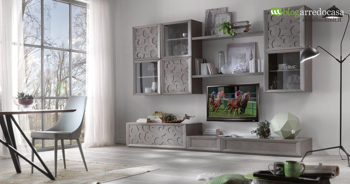 Ordinare il soggiorno con una parete attrezzata ...