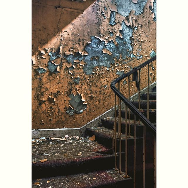 The Staircase... #urban #explore #industrial #abandoned
