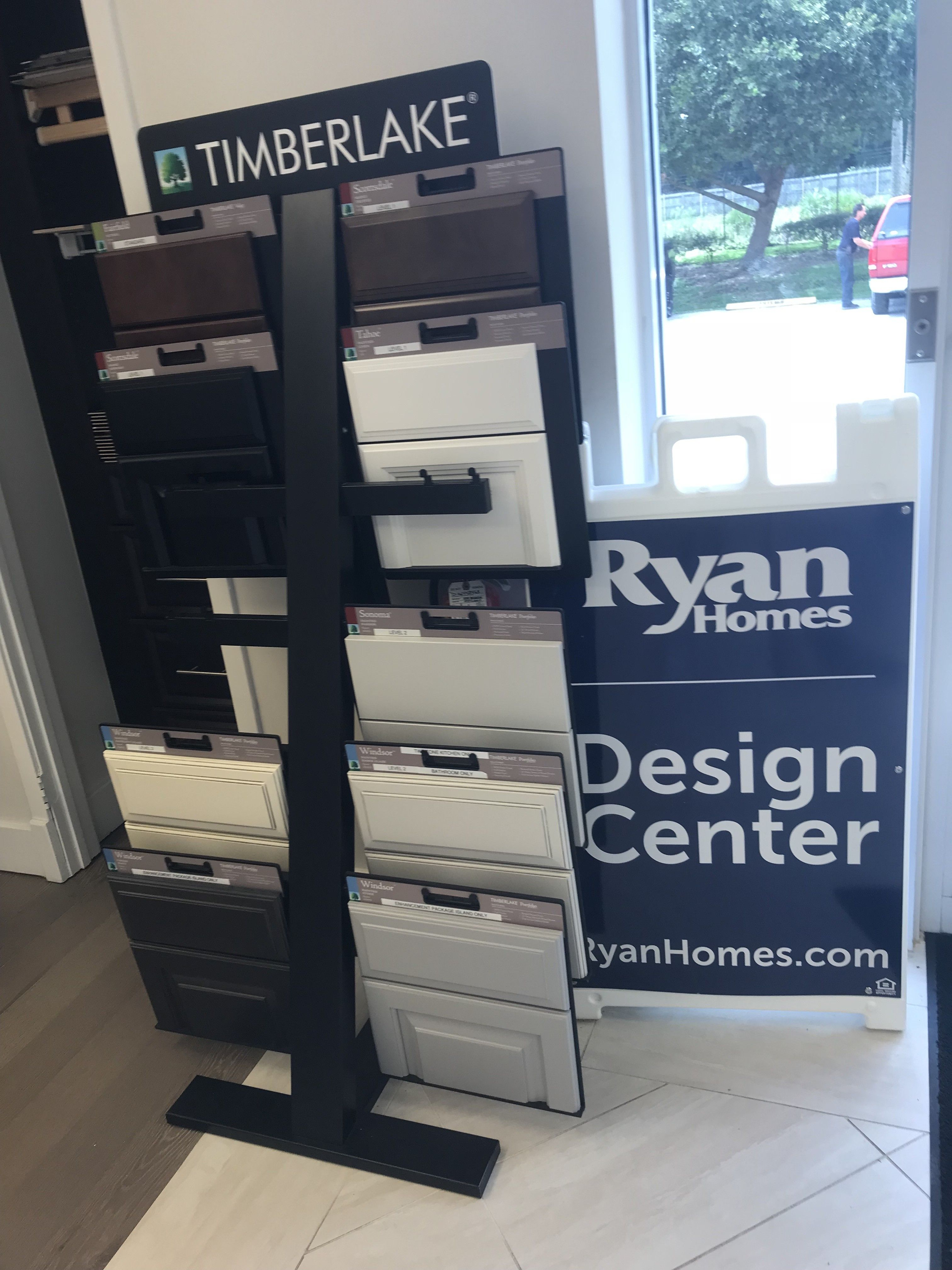Our Experience At The Ryan Homes Design Center Home Building Tips House Siding Options Ryan Homes