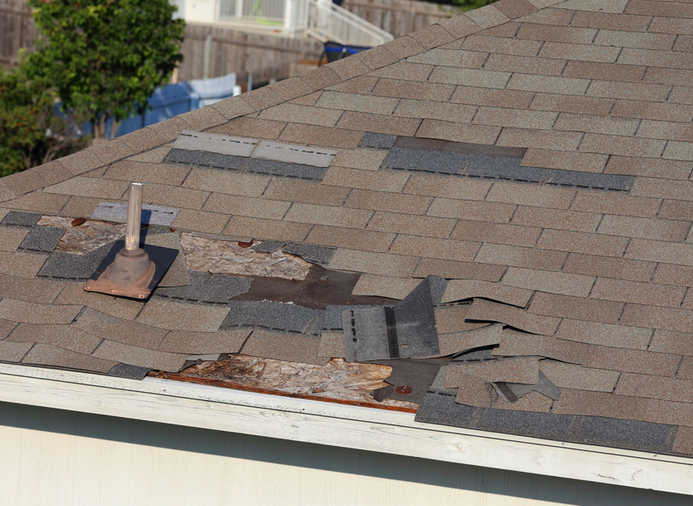 Missing Shingles Common Cause Of Leak From Your Ceiling In 2020 Residential Roofing Roof Installation Roofing Options