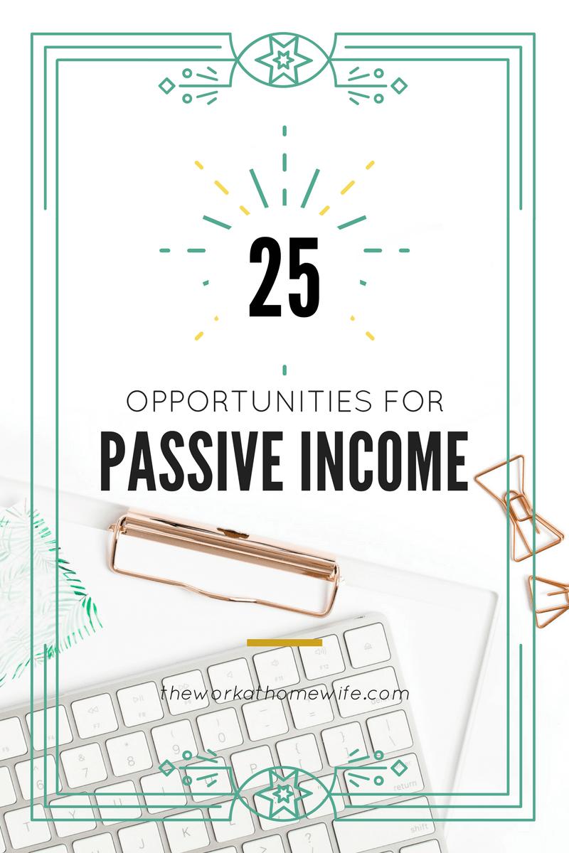 25+ Passive Income Ideas | Extra money and Blogging